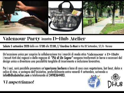 Valemour Party incontra D-Hub Atelier